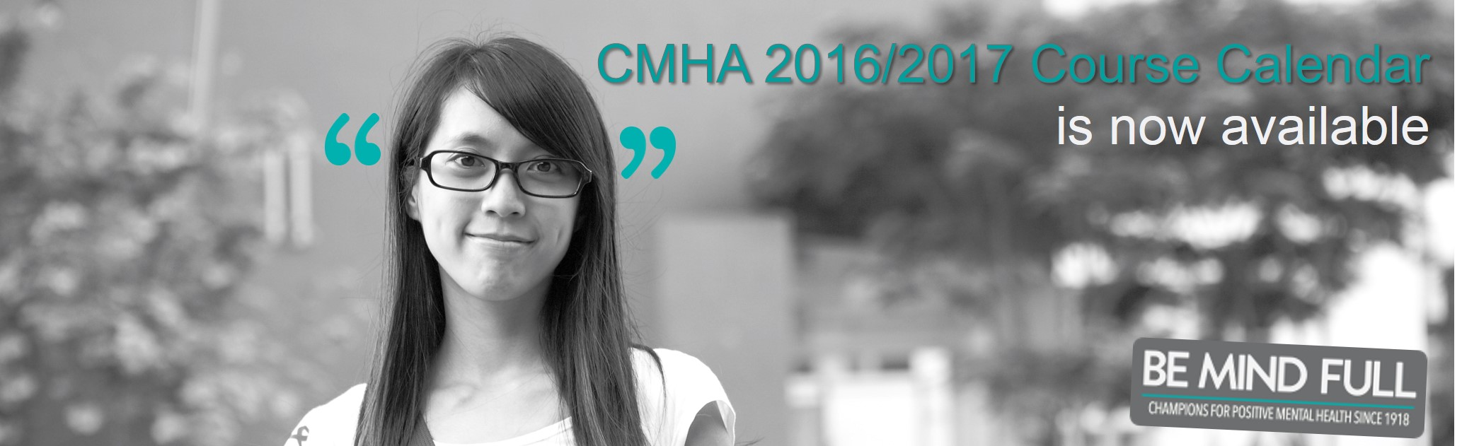 CMHA Manitoba and Winnipeg 2016 / 2017 Course Calendar Now Available