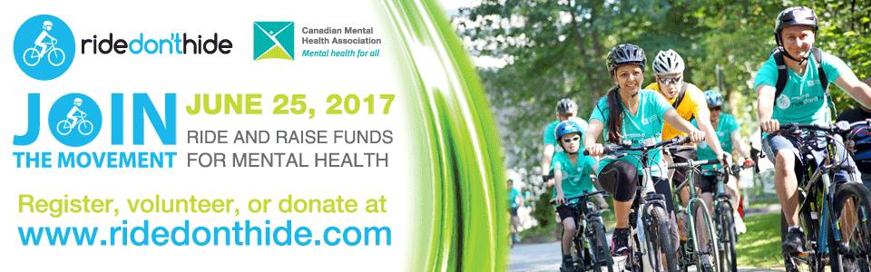 Ride Don't Hide Community Bike Ride