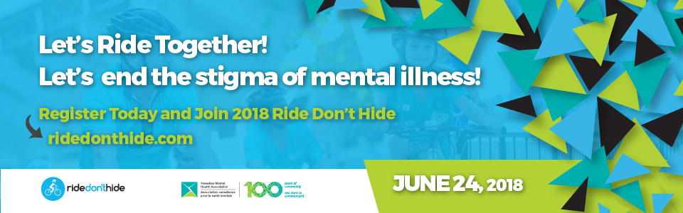 Join Canada's Largest Mental Health Bike Ride!