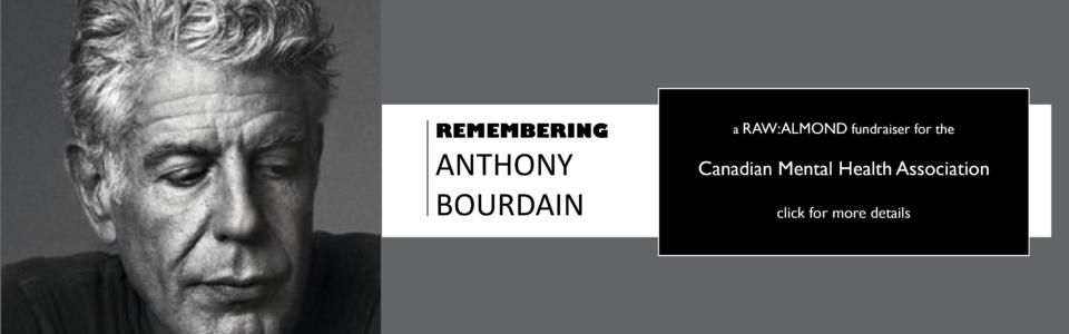 Remembering Anthony Bourdain: Fundraiser for CMHA