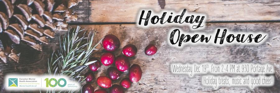 CMHA Holiday Open House
