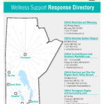 CMHA Wellness Support Response Provincial Map and Numbers