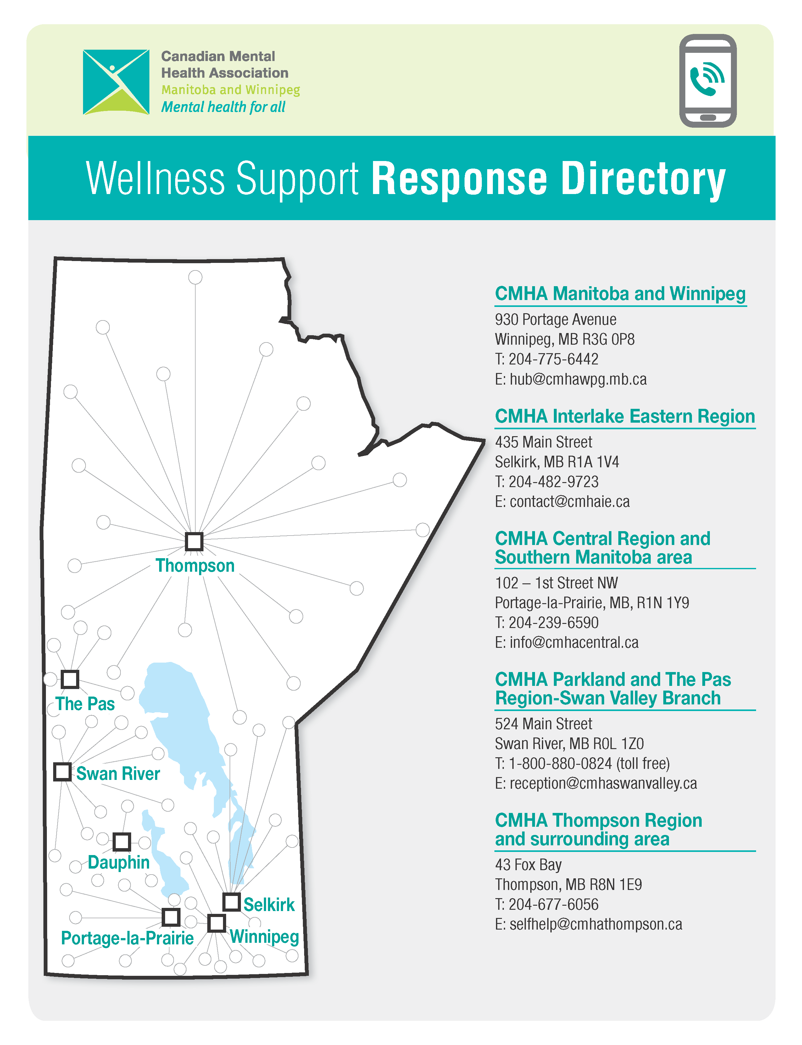 CMHA Wellness Support Response Line