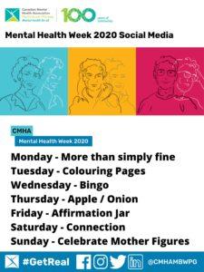 MHW 2020 Social Media Activities