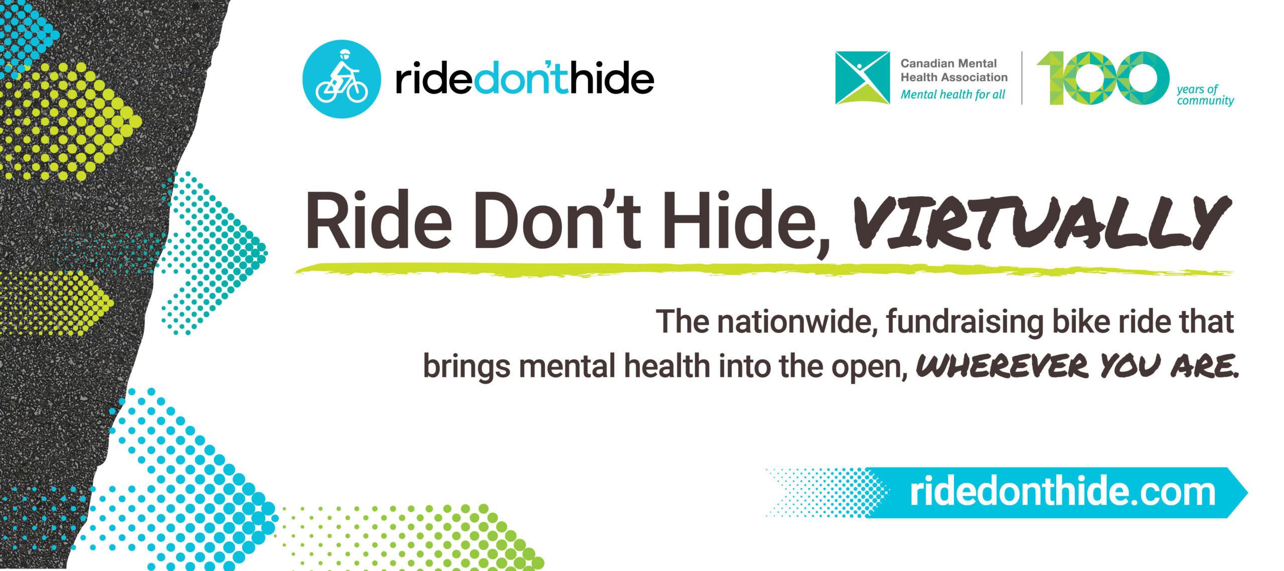 Virtual Ride Don't Hide – 2020